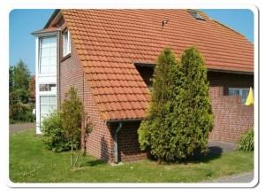 Bild: Doppelhaushälfte in ruhiger Sackgassenlage im Küstenbadeort Neßmersiel
